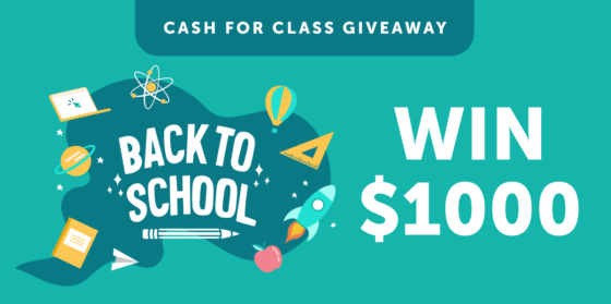 Ibotta Cash for Class Giveaway